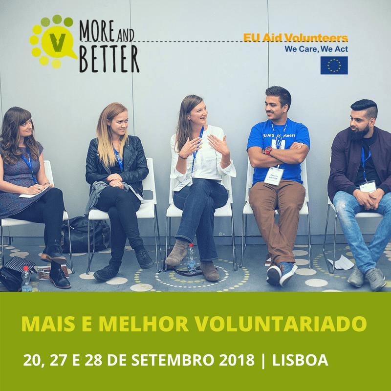 Formação Mais e Melhor Voluntariado