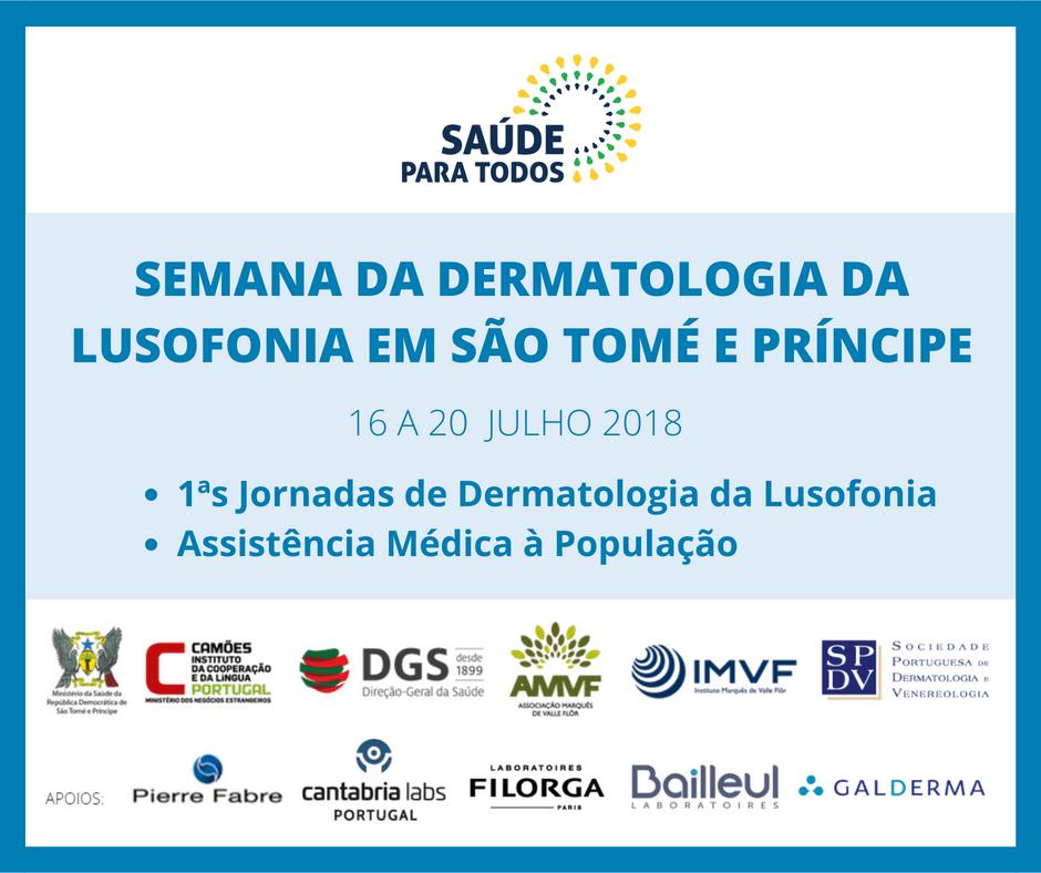 1.ª edição das Jornadas de Dermatologia da Lusofonia em São Tomé e Príncipe
