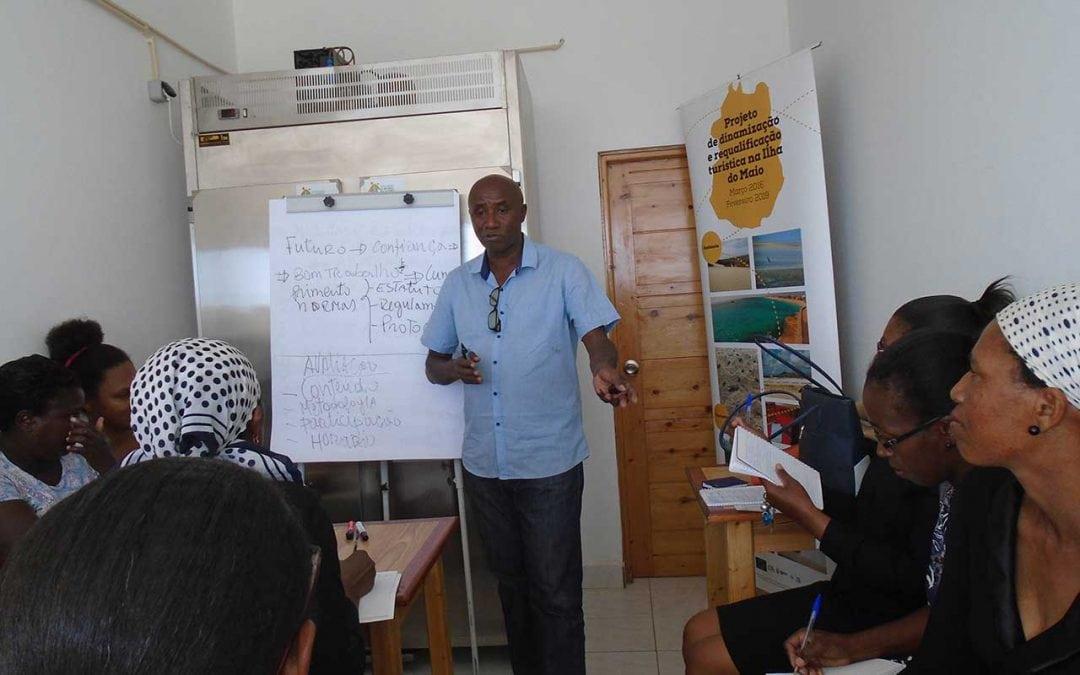 Projeto de Dinamização e Requalificação Turística da Ilha do Maio promove capacitações para a promoção de atividades económicas locais
