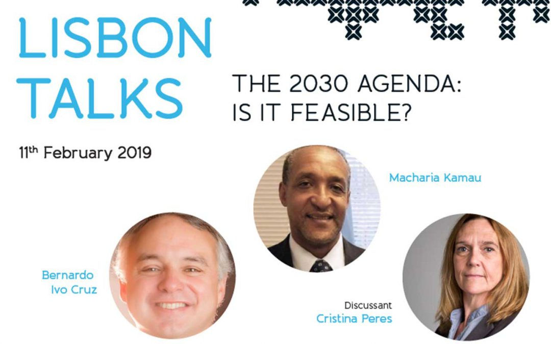 Lisbon Talk – The Agenda 2030: Is it feasible?   Inscrições abertas