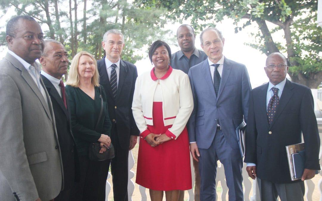 Reforço da cooperação com São Tomé e Príncipe
