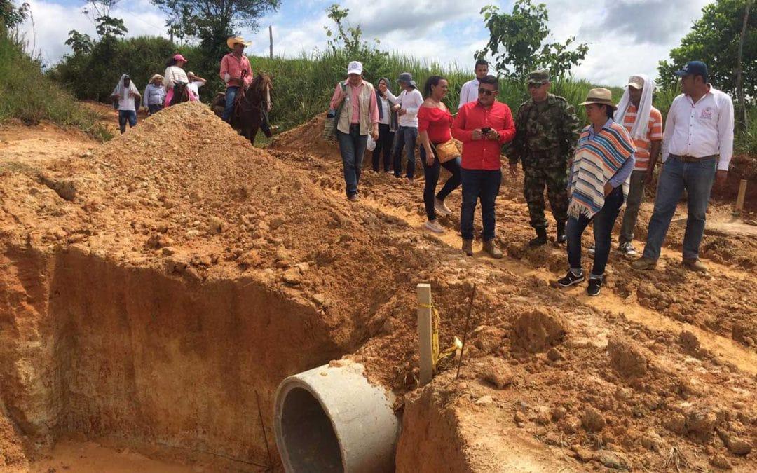Projeto Territórios Sustentáveis para a Paz em Caquetá: Mota Engil apoia construção de troço viário