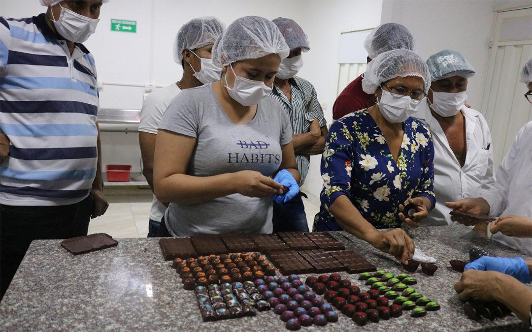 O projeto Territórios Sustentáveis para a Paz em Caquetá promoveu intercâmbio para conhecimento da produção de cacau