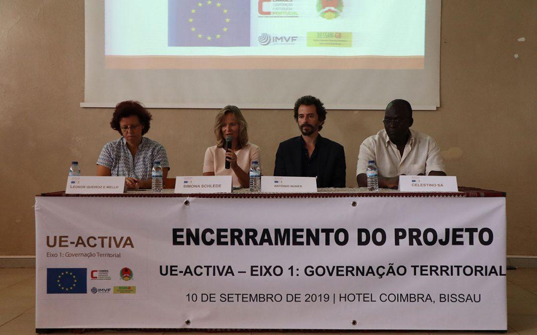 UE-ACTIVA: Eixo 1: Governação Territorial faz balanço positivo de 4 anos de projeto
