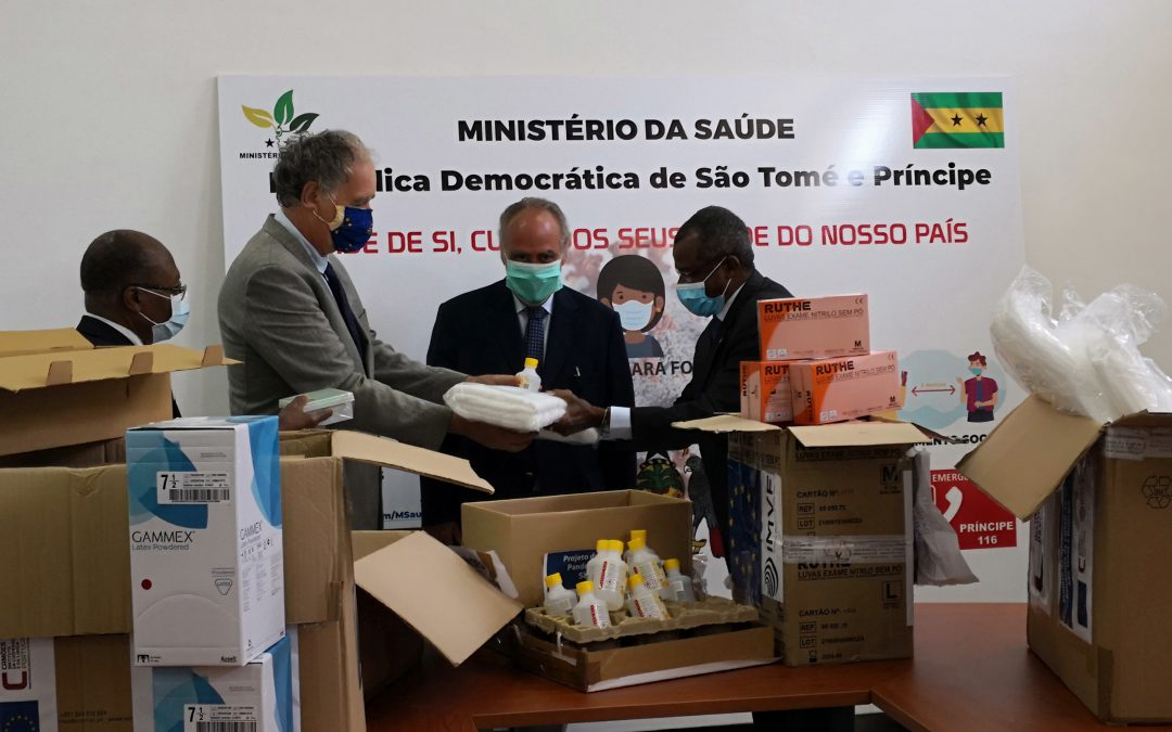 European Union, Portuguese Cooperation and IMVF strengthen support to São Tomé and Príncipe in the fight against COVID-19