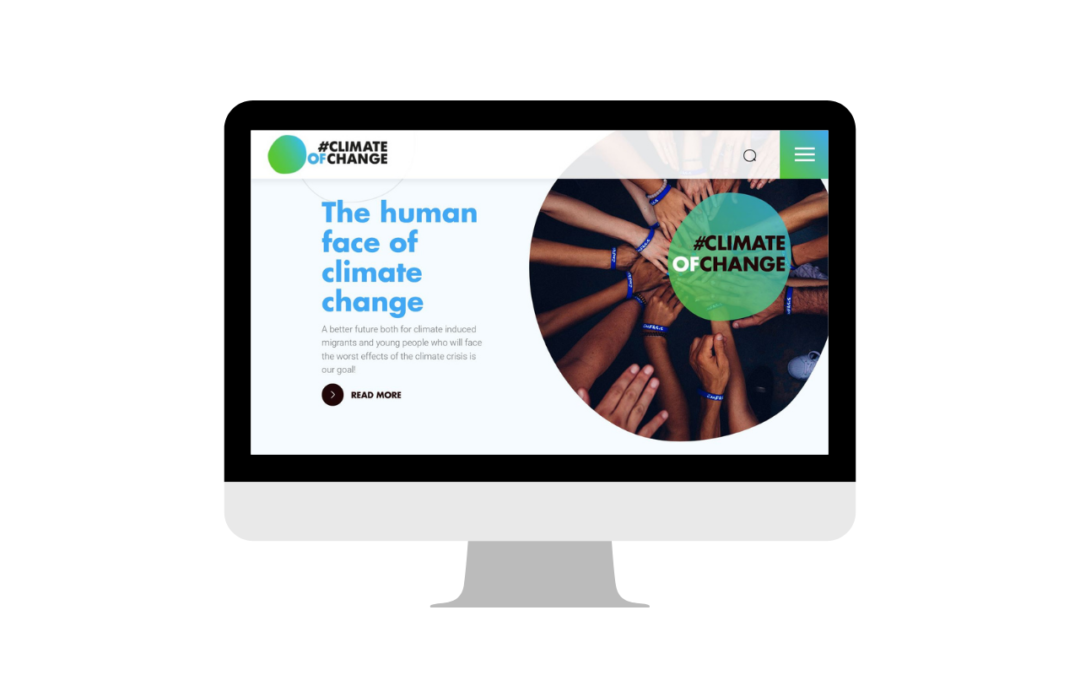 #ClimateOfChange campaign's website is up and running!