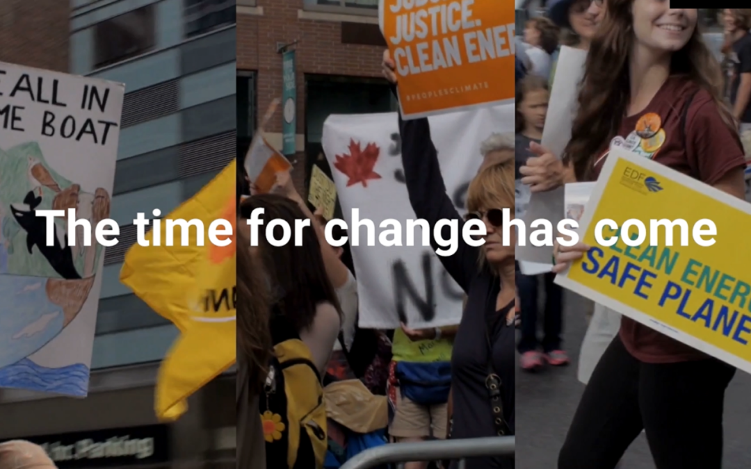 #ClimateofChange has a new video! Are you part of the change?